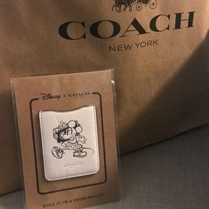 Coach Minnie phone wallet